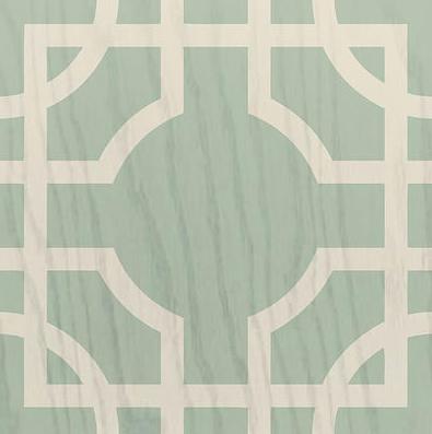 mirth studio painted wood floor tile