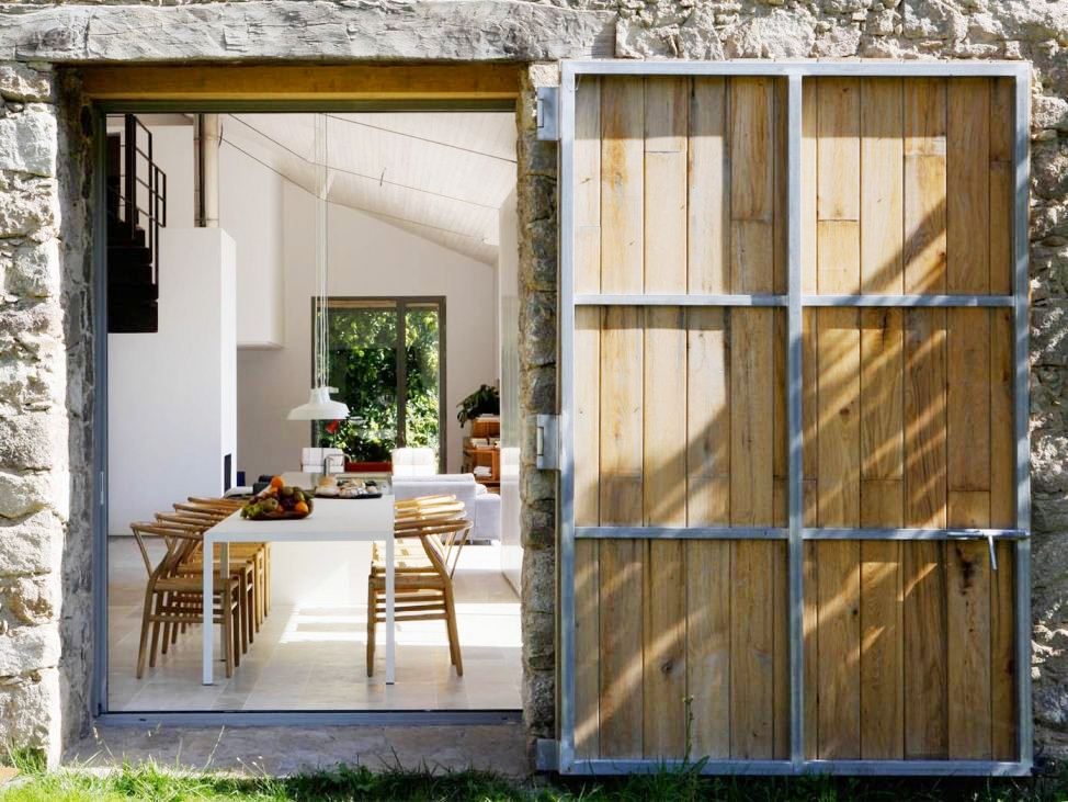 An old stone barn transformed cococozy for Minimalist country decor