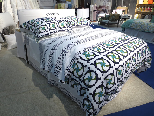 bedding at the NYIGF 2013 Downtown Company Booth