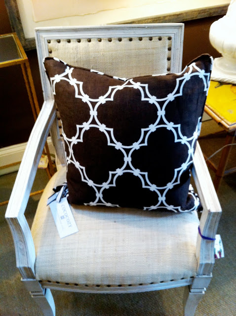 COCOCOZY pillow on a chair in A Mano