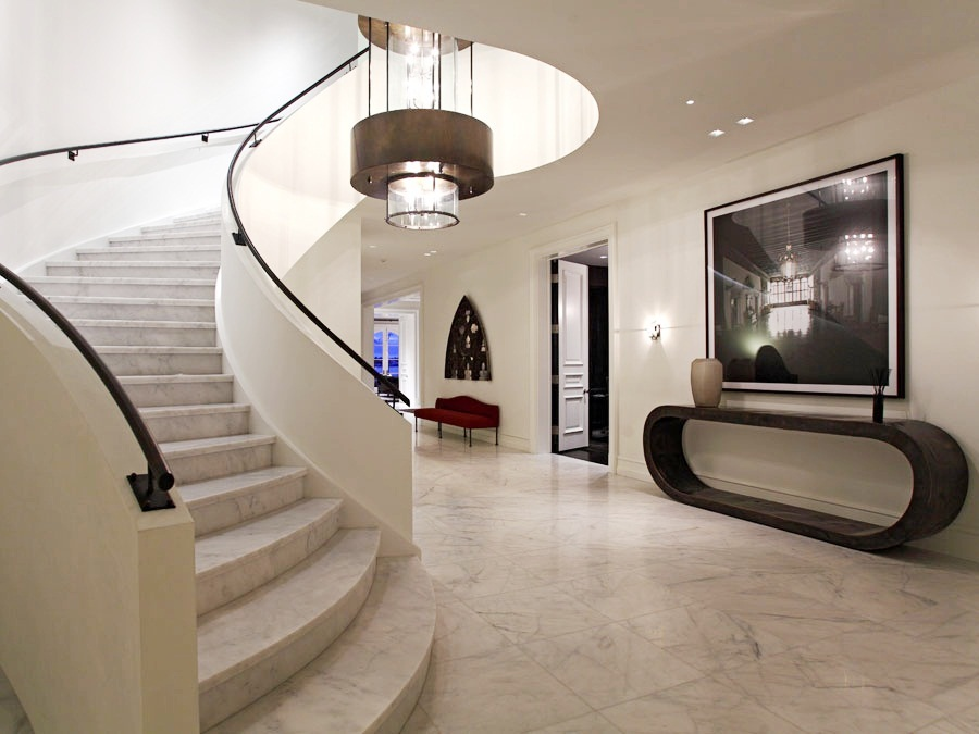 Modern Mansion Foyer : See this house a mysterious million dollar newport