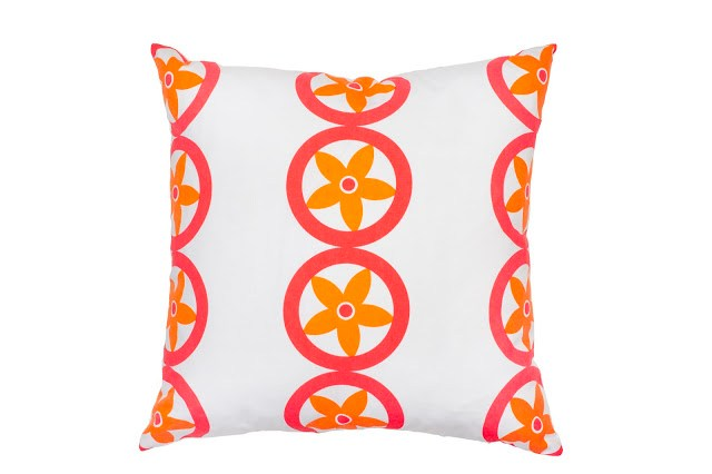 COCOCOZY Surf Shack Special Edition Vent Pillow Tommy Hilfiger neon pink orange