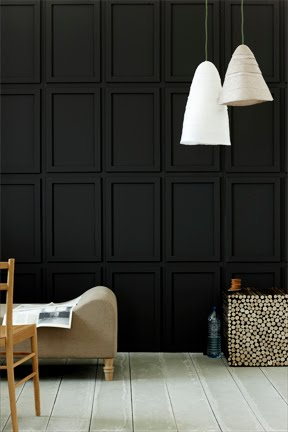 The Room Had Dark Paneled Walls