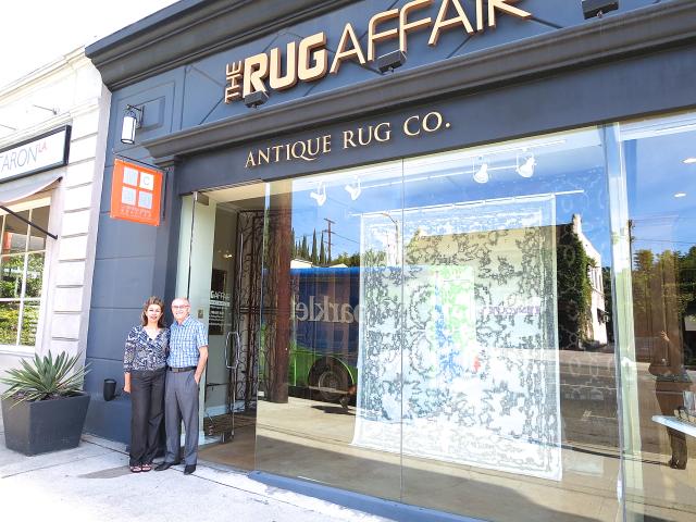 The Rug Affair showroom in Los Angeles, CA