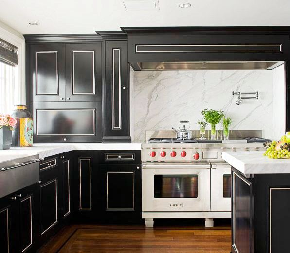 Dark To White Kitchen Cabinets: SLAB IT UP - KITCHEN MARBLE!