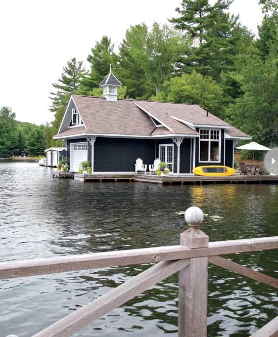 Small boathouse with big cottage charm cococozy for Cottage designs ontario