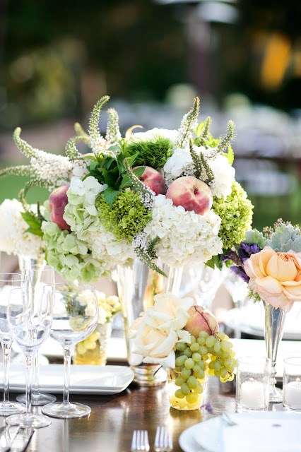 Tablescape at a Santa Barbara wedding designed by Yifat Oren