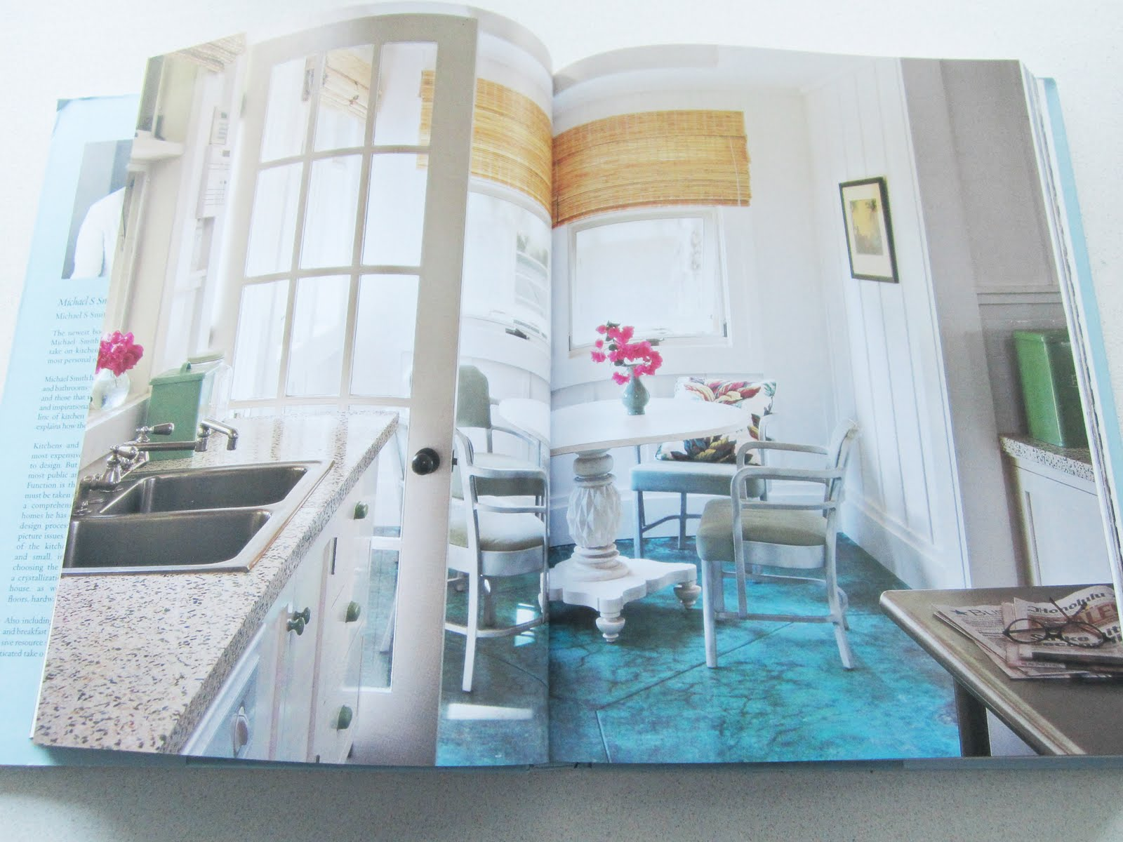 BOOK LOOK: KITCHENS & BATHS BY WHITE HOUSE DECORATOR MICHAEL SMITH ...