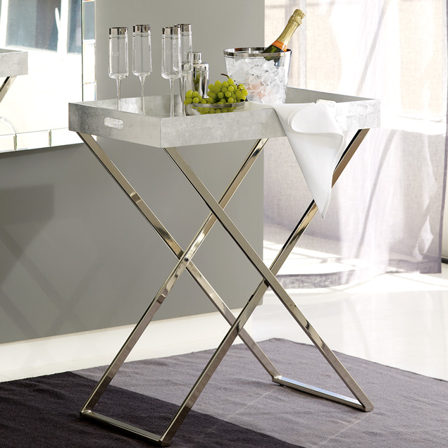 CHEAP TO CHIC X MARKS THE SPOT ON FASHIONABLE SIDE TABLES - West elm tray table