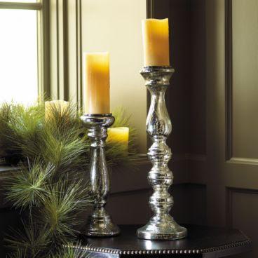 Mercury Glass Candle Holder from Ballard Design
