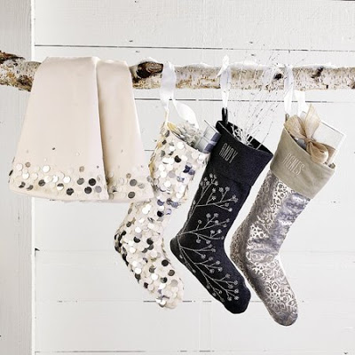 amusing living room west elm decorate shiny | DESIGN ON SALE DAILY: SHIMMERING SHINY STOCKINGS ...
