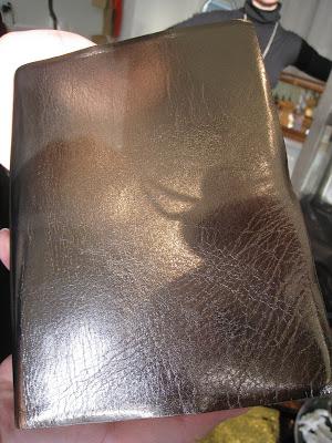 Metallic pewter journal from Persimmon