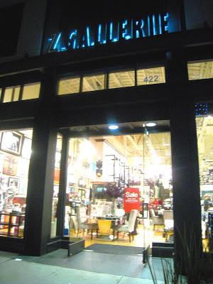 Exterior of Z Gallerie