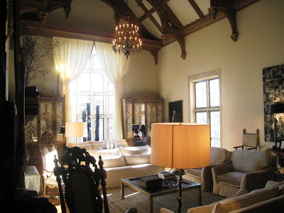 Grand Salon Ballroom as realized by West Palm Beach interior designer Jack Fhillips at the Greystone Mansion