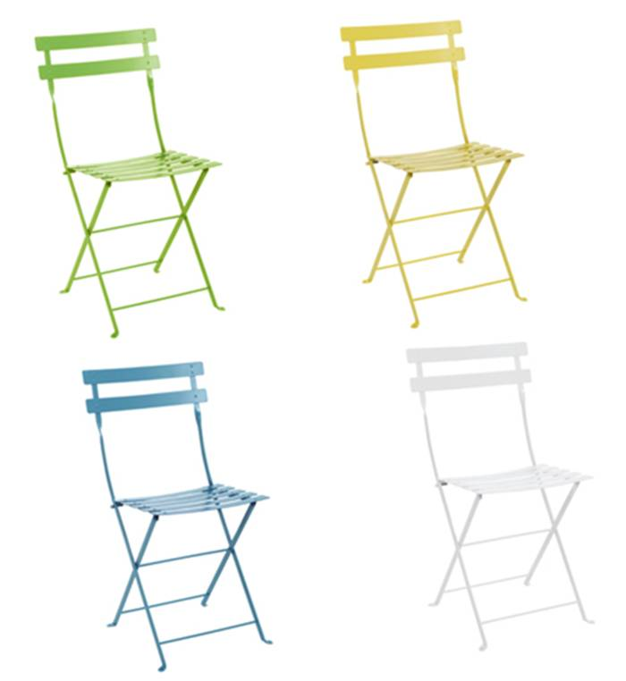 DESIGN ON SALE DAILY COLORFUL BISTRO CHAIRS COCOCOZY