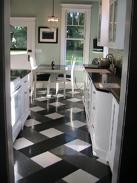 Bdg Style Idaho Project Kitchen: KITCHEN WEEK: AN IDAHO READER INSPIRED TO REMODEL BY A DESIGNER PLAID FLOOR!
