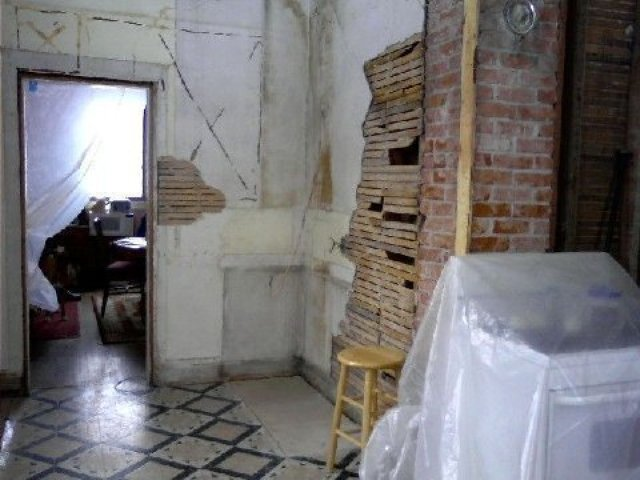 Kitchen during a remodel