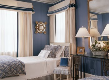 color watch traditional with a twist in three boldly blue bedrooms cococozy