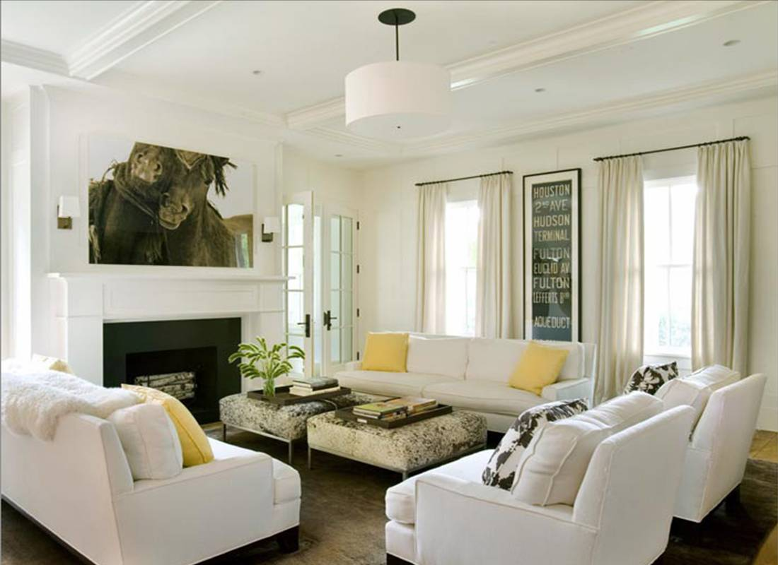 COLOR WATCH: WINTER WHITE ROOMS! | COCOCOZY