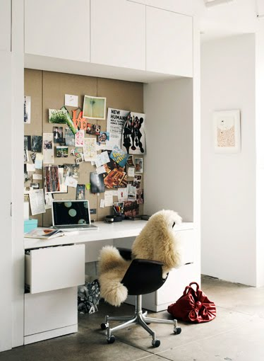 white modern home office with built in cabinets and drawers black white home office cococozy 5