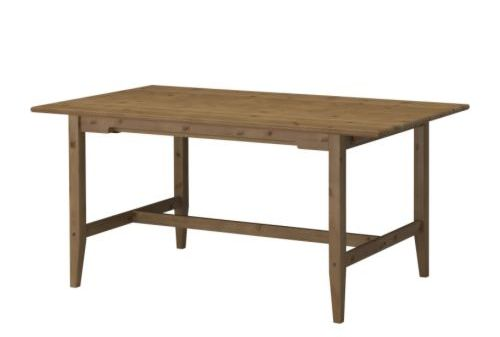 Wood table from Ikea