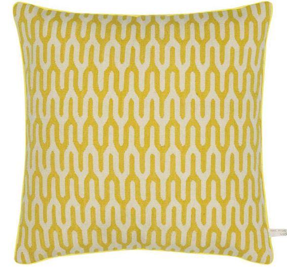 Ponti Yellow Cushion