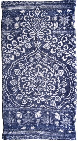 100% Turkish cotton towel in royal blue from Fresco Towels