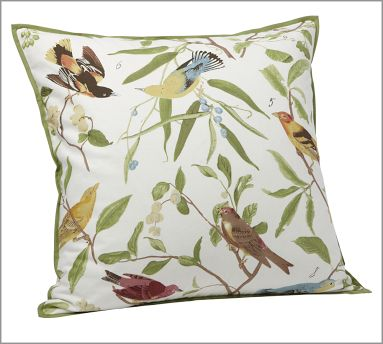 Spring Sparrow Pillow Cover from Pottery Barn