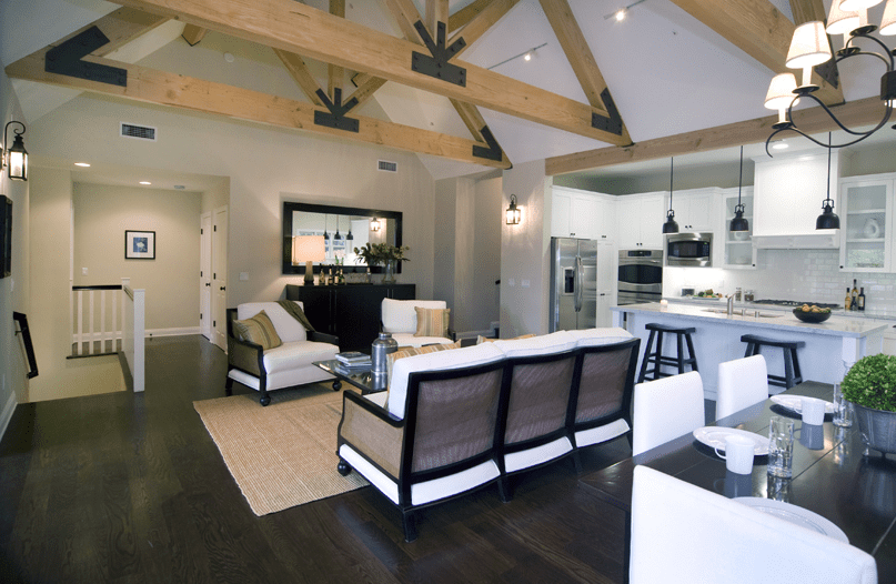 High Ceilings And A Great Room In A Magnificent Cape Cod