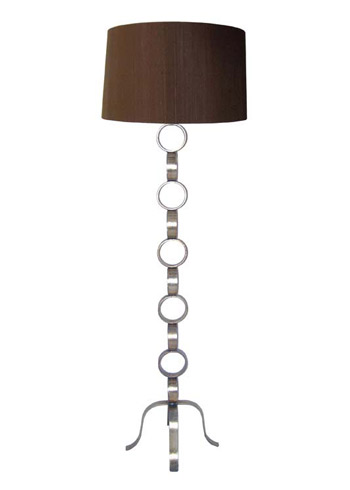 Antique silver floor lamp from Layla Grayce