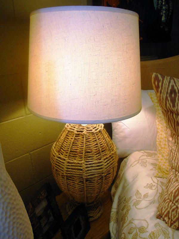Rope Table Lamp at Colcha