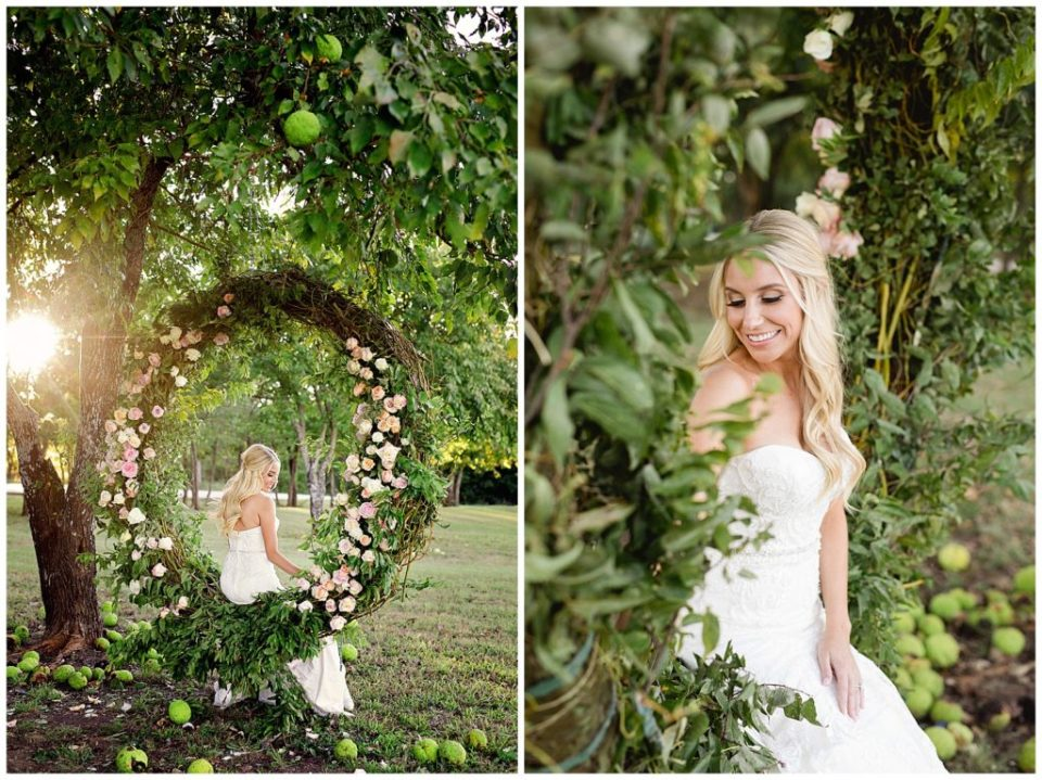 Floral Installation with Roses