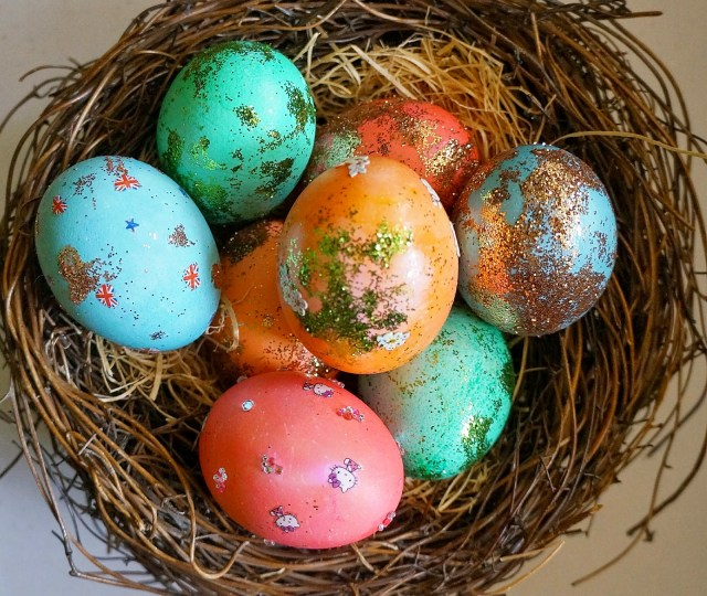 Glittery Eggs