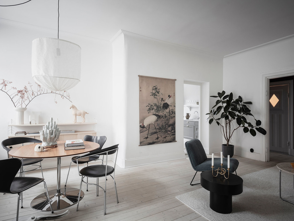 White home with character