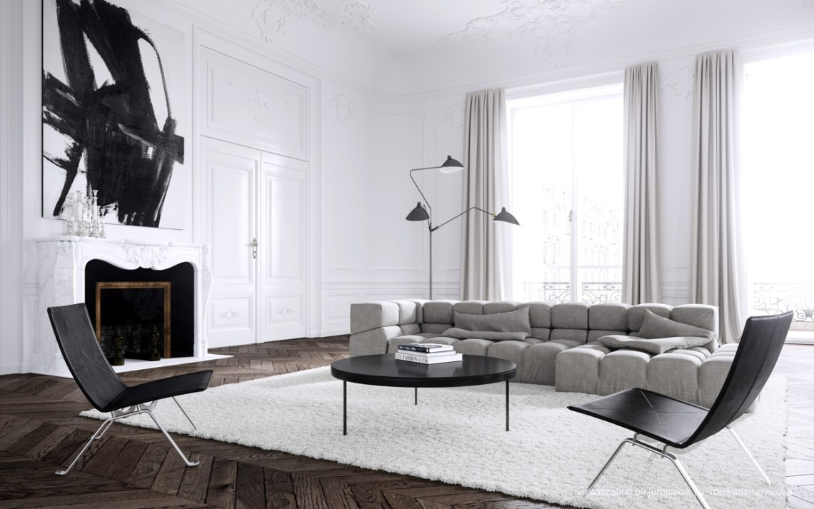 Parisian apartment by jessica vedel coco lapine for B b design