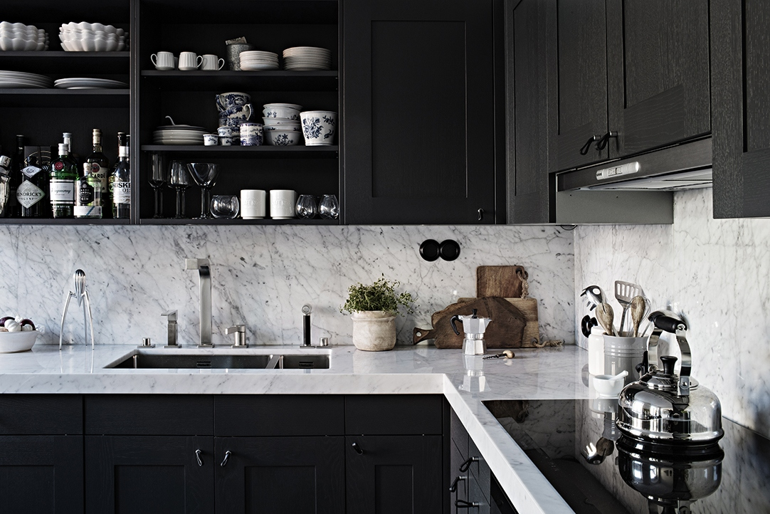 Grey Home Black Kitchen Coco Lapine Designcoco Design