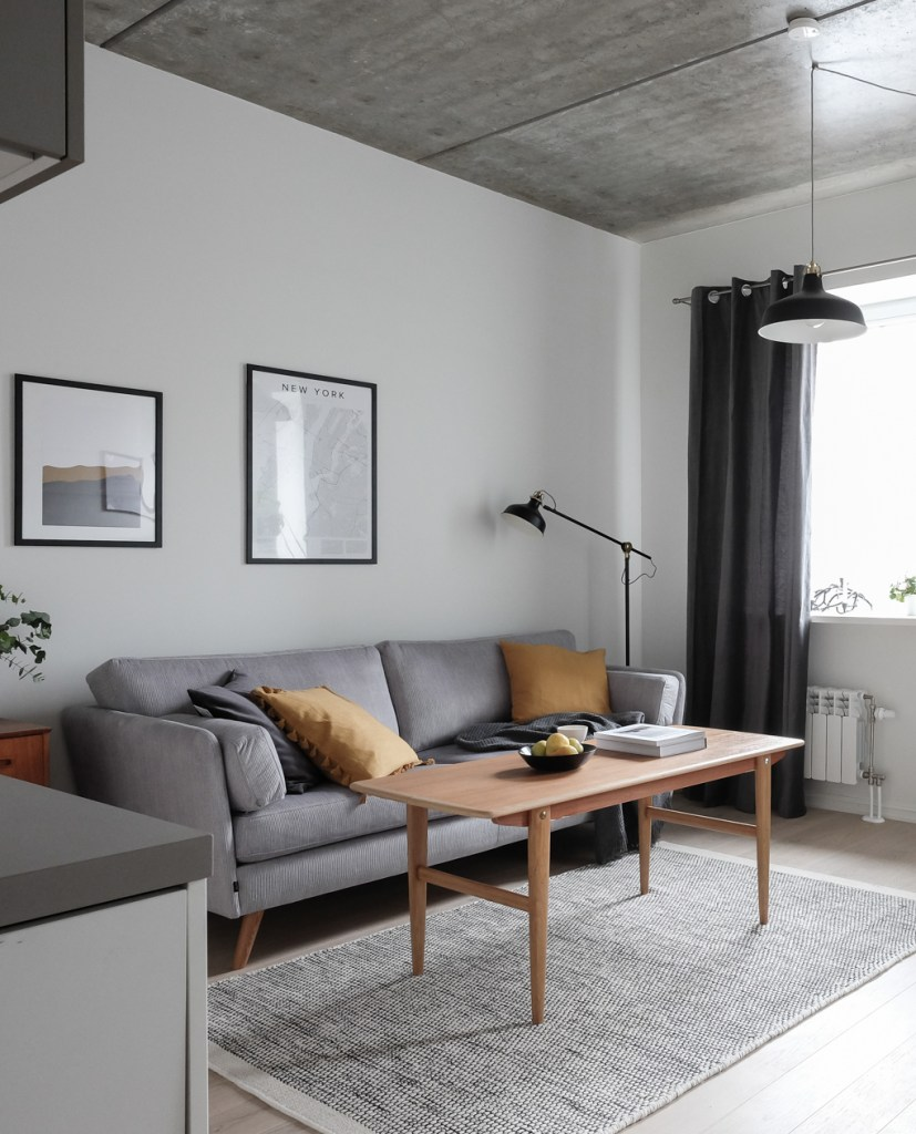 Scandinavian Interior Apartment With Mix Of Gray Tones: Page 16 Of 179 -COCO LAPINE DESIGN
