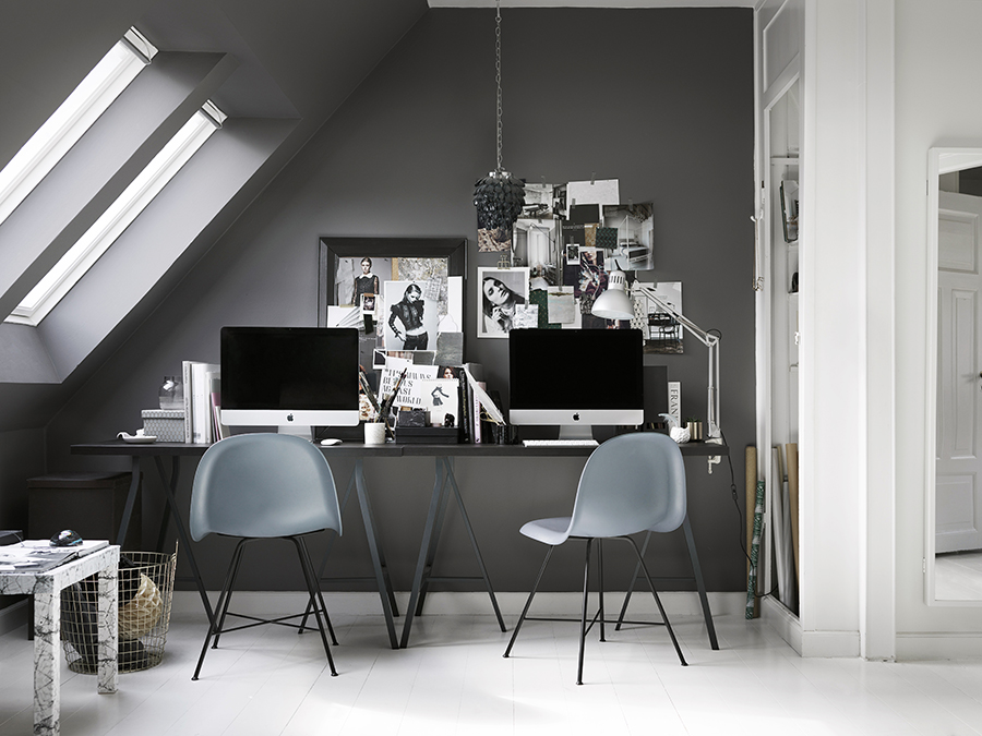 Copenhagen townhouse with grey details - via Coco Lapine Design