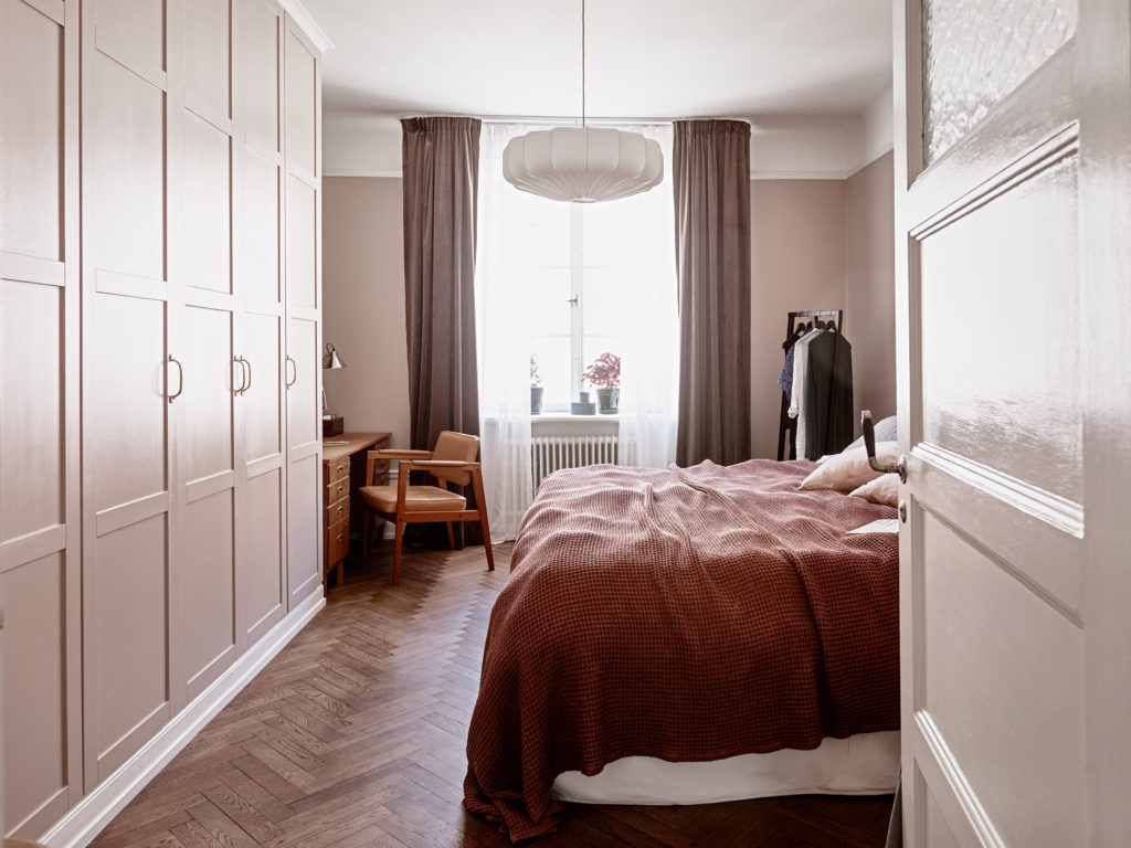 Bedroom In Dusty Pink Coco Lapine Designcoco Lapine Design