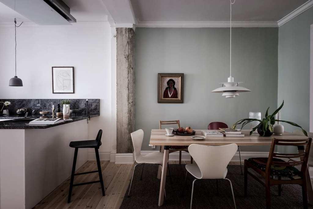 Beautiful open plan kitchen