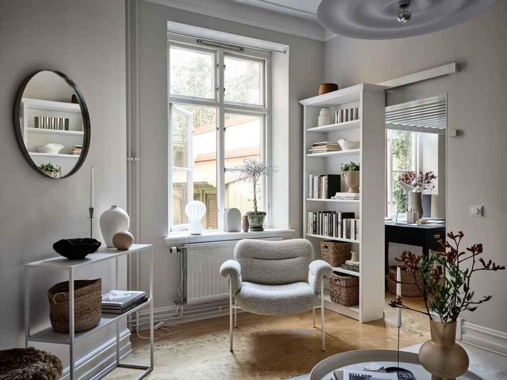 Cozy home in warm beige tints