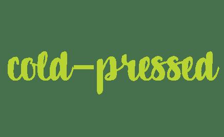 cold-pressed juice