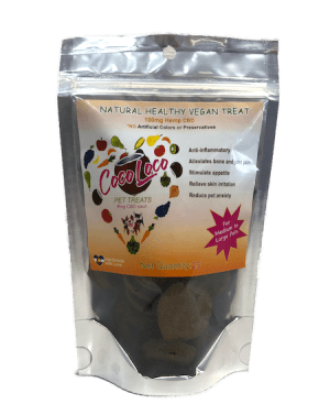 Coco Loco Large Pet Vegan Hemp CBD Treats