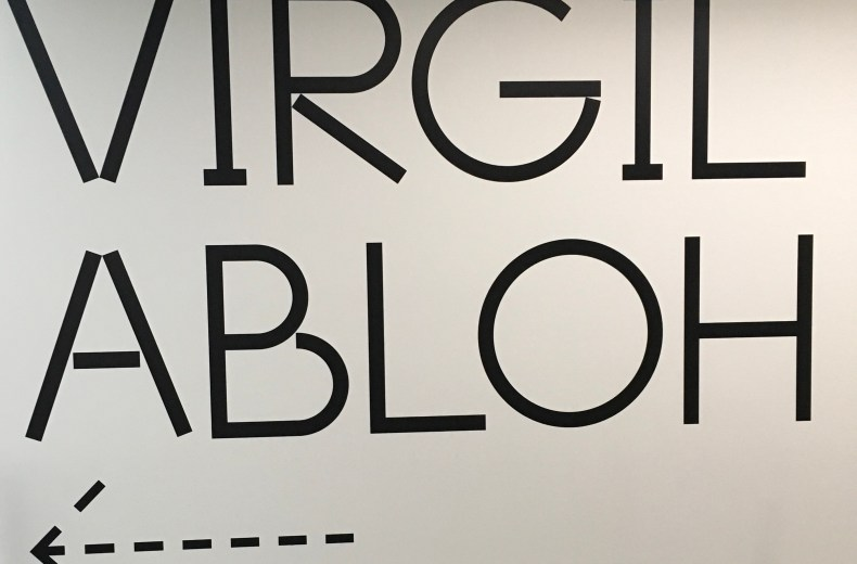 Cocolososays: A Look inside Virgil Abloh's 'Figures of