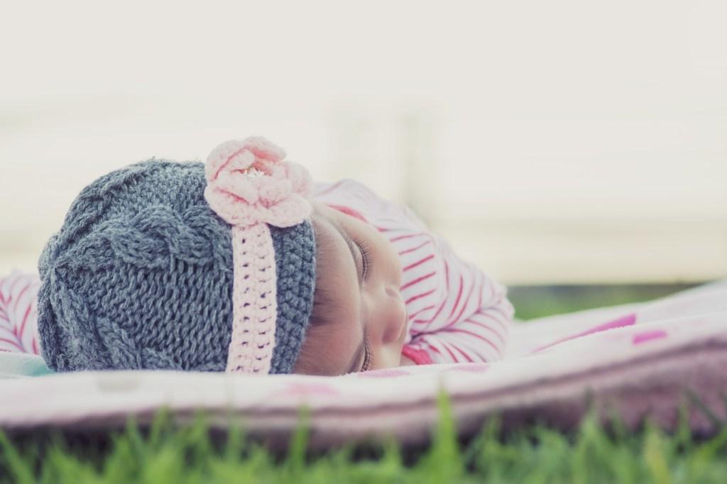 赤ちゃんのお昼寝