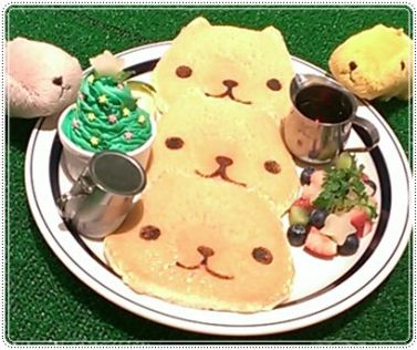 カピバラさんパンケーキ