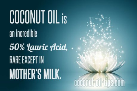 Coconut Oil Mother's Breast Milk Lauric Acid