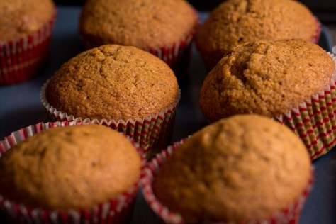 16. Pumpkin Muffins: pumpkin puree + cake mix. Mix together and bake in a 400 degree oven for 20 minutes.