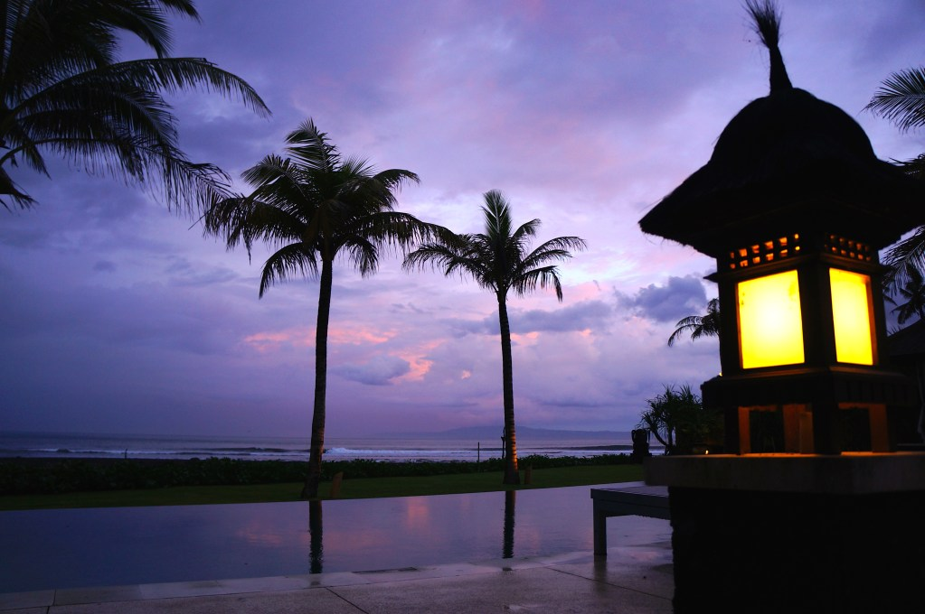 Sunset Bali, Indonesia. Photo: Eeva Routio.