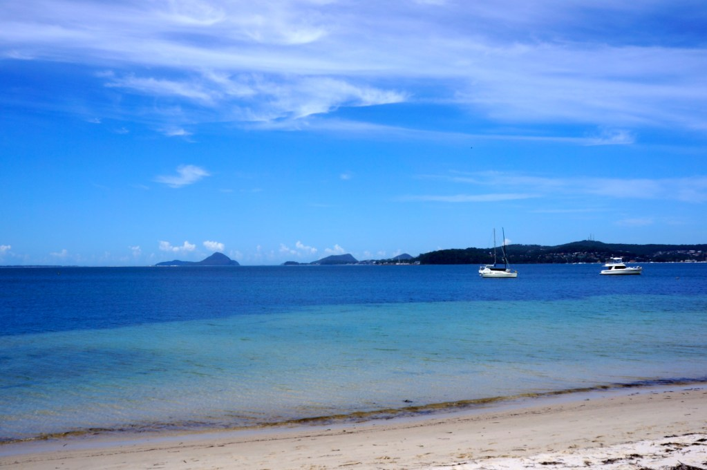 Soldier's Point Beach, Port Stephens, NSW, Australia. Photo: Eeva Routio.